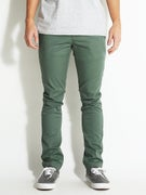 RVCA Stapler Chino Pants  Duck Green