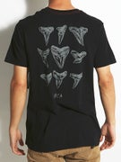 RVCA Shark Teeth Vintage Wash T-Shirt