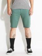 RVCA Stapler Chino Shorts  Spruce