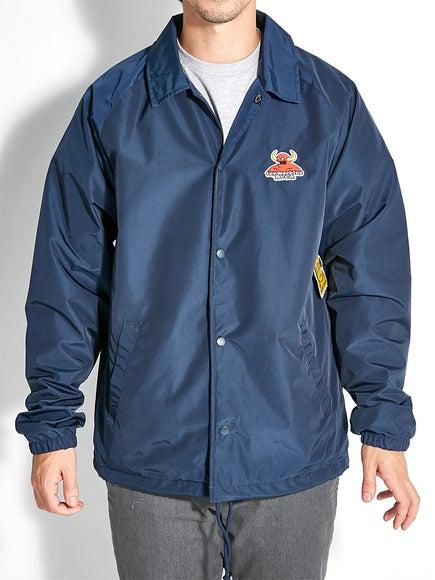 rvca x toy machine jacket
