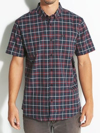 RVCA Thatll Do Plaid S/S Woven Shirt