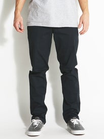 RVCA The Week-End Stretch Chino Pants Carbon