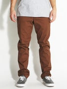 RVCA The Week-End Stretch Chino Pants Cocoa