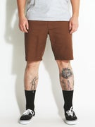RVCA The Week-End Stretch Shorts Cocoa