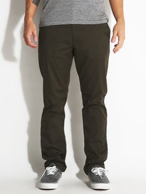 RVCA The Week-End Stretch Chino Pants Forest