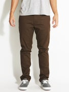 RVCA The Week-End Stretch Chino Pants Chocolate