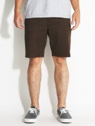 RVCA The Week-End Stretch Shorts Chocolate