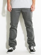 RVCA The Week-End Chino Pants Charcoal Heather