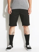 RVCA The Week-End Chino Shorts  Black
