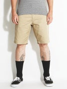 RVCA The Week-End Chino Shorts  Khaki