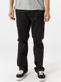 RVCA The Week-End Stretch Chino Pants Black