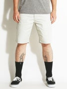 RVCA The Week-End Chino Shorts  Metal