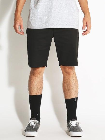 a227f75cee RVCA The Week-End Stretch Shorts Black