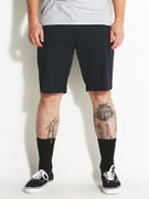RVCA The Week-End Stretch Shorts  Carbon