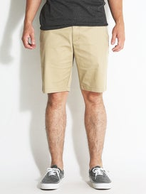 RVCA The Week-End Stretch Shorts Khaki