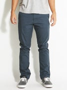 RVCA The Week-End Stretch Chino Pants Midnight
