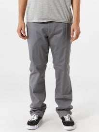 RVCA The Week-End Stretch Chino Pants Smoke