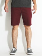 RVCA The Week-End Stretch Shorts Tawny Port