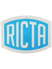 Ricta Logo 10 Sticker\ White