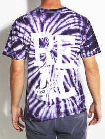 Real Oval Stacked Spiral Tie Dye T-Shirt