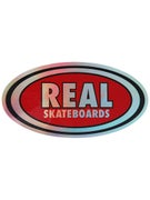 Real Oval Prism Sticker Medium