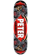 Real Ramondetta Floral Oval SM Deck 7.9 x 31.25