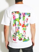 Real Stacked Floral Premium T-Shirt