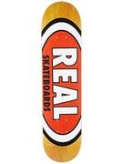 Real Team Wood Oval Mini Deck 7.21 x 29.3