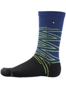 Richer Poorer Apex Sock  Navy