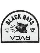 RVCA Black Hats Patch  Black/Grey