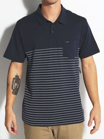 RVCA Sure Thing Stripe Polo Shirt