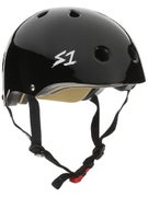 S-One Mini Lifer Kids CPSC Helmet  Black Gloss