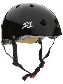 S-One Mini Lifer Kids CPSC Helmet Gloss Black