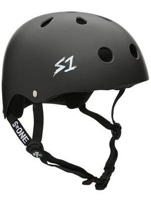 S-One Premium Skateboard Helmet Matte Black XS