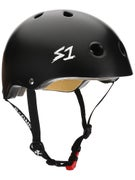 S-One Mini Lifer Kids CPSC Helmet  Black Matte