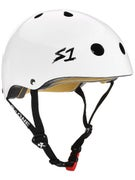 S-One Mini Lifer Kids CPSC Helmet  White
