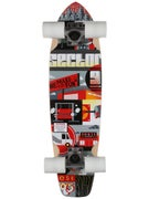 Sector 9 Dart Mini Red Complete  8.1 x 31.6