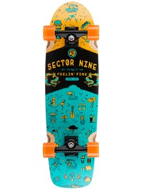 Sector 9 Shindig Complete  8.5 x 30