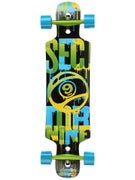 Sector 9 Sprocket Platinum Green Complete  9.8 x 38.5