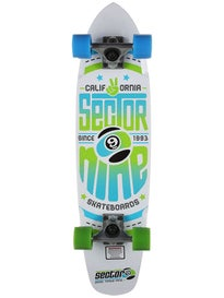 Sector 9 The Wedge White Complete  7.25 x 31.25