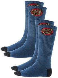 Santa Cruz 2 Pack Cruz Socks