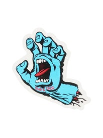 Santa Cruz Screaming Hand 3 Sticker Blue