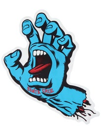 Santa Cruz Screaming Hand 6 Sticker Blue