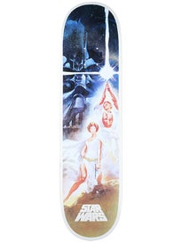 Santa Cruz Star Wars A New Hope Poster Deck 8.0 x 31.6