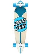 Santa Cruz Azul Dot Pintail Cruzer  9.58 x 39