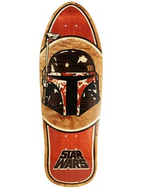 Santa Cruz x Star Wars Boba Fett Inlay Deck  10.35 x 31
