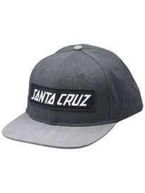 Santa Cruz Block Strip Snapback Hat