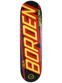 Santa Cruz Borden Strip P2 Deck  8.5 x 32.2