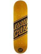 Santa Cruz Black Strip Deck  8.3 x 32.2