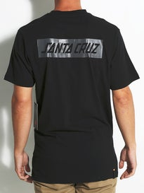Santa Cruz SCS Block Strip T-Shirt